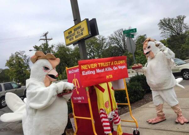 Ronald McDonald demo