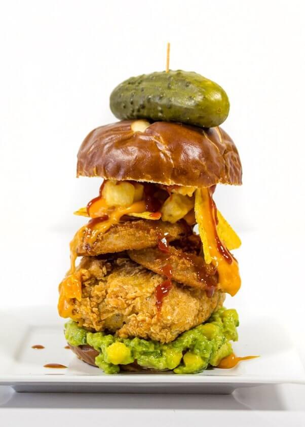 stacked-vegan-burger