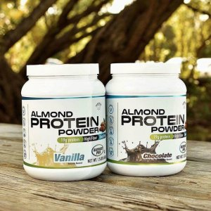 Company Introduces World's First Almond-Based Vegan Protein Powder