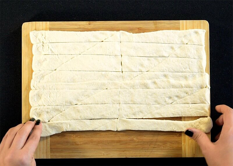 Crescent Roll Strips