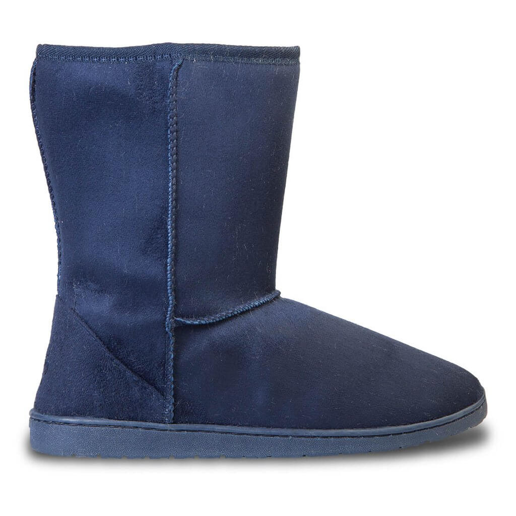 Cammie Women's Classic Faux Sheepskin Fur Winter Boots, available at Walmart