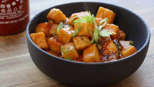 The Buddhist Chef's General Tso's Tofu