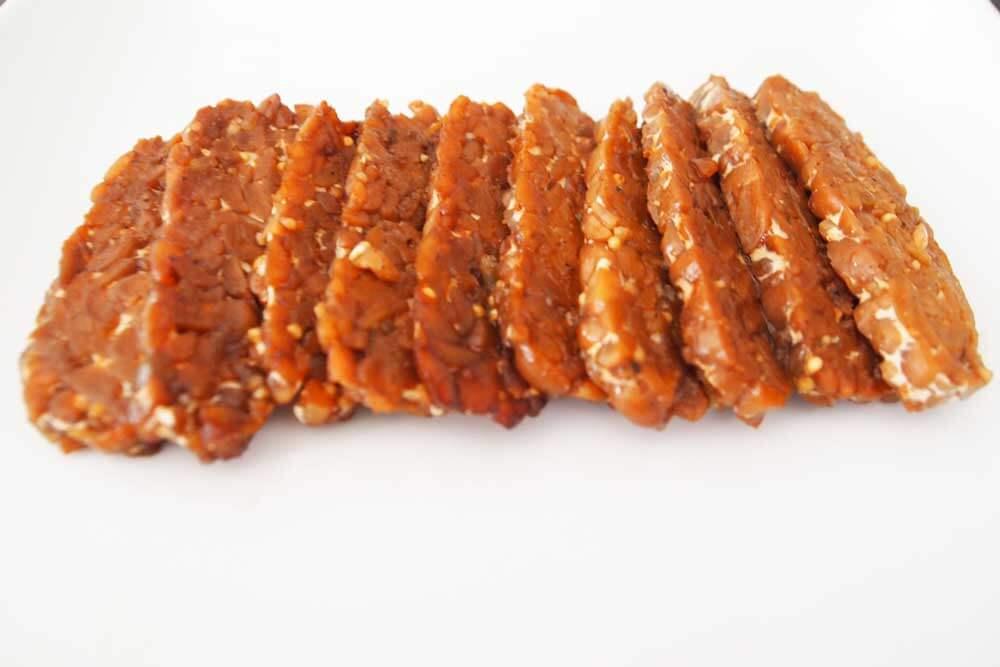 Baked Tempeh Bacon