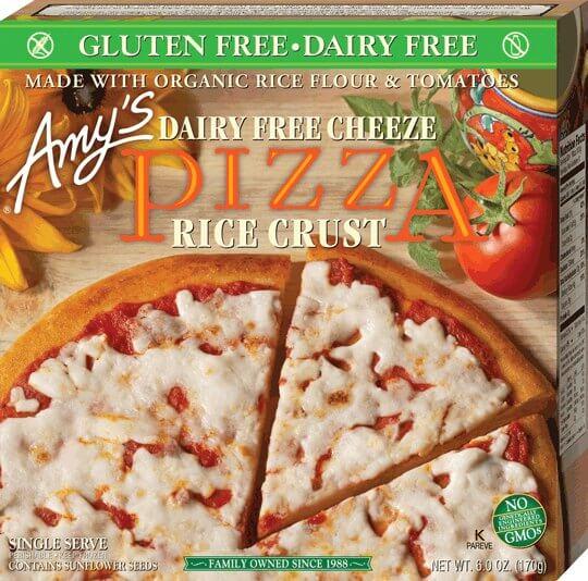 Vegan Frozen Pizzas so Dinner Will Be Ready in 15 Minutes ... Garlic Bread Brands