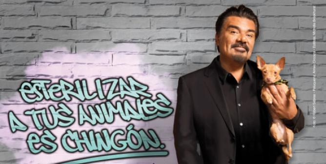 George Lopez: Esterilizar a tus animales es chingón