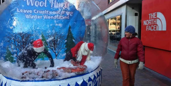 Photos: You Won't See This Snow Globe in Santa's Workshop