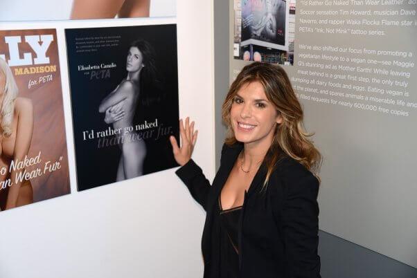 Elisabetta Canalis, Naked Ambition