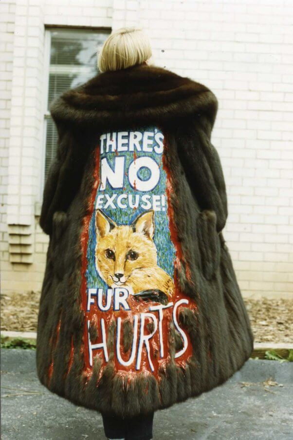 Sable coat donated to PETA by Mary Tyler Moore