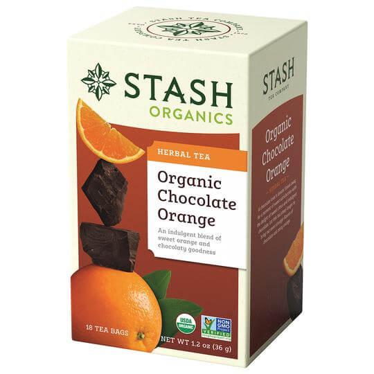 Stash tea organic chocolate orange