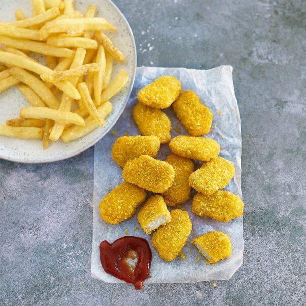 meatless farm vegan chicken nuggets
