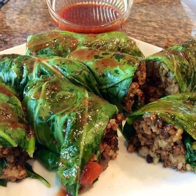 Vegan soul food marinated and stuffed collard greens peta forumfinder Gallery
