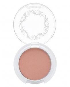 natural pink blush vegan makeup