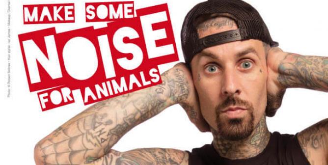 Travis and Alabama Barker: Make Some Noise for Animals