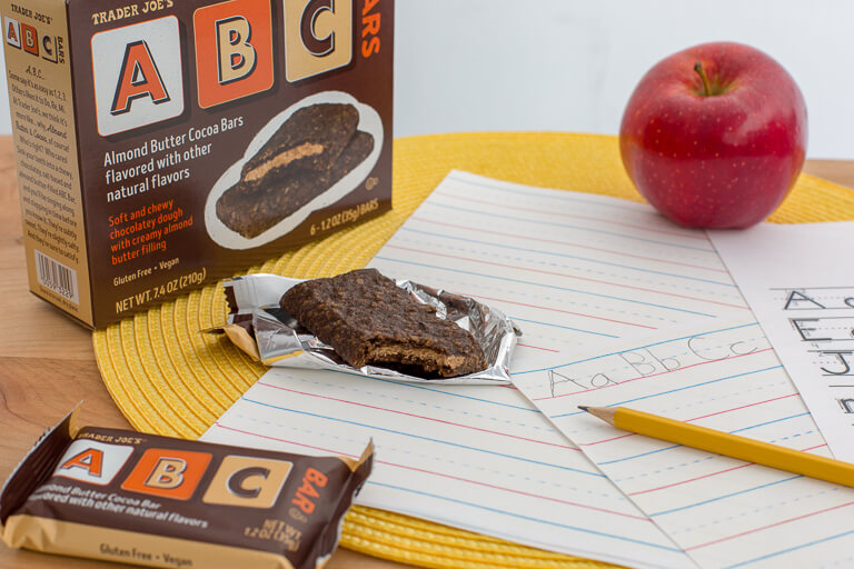 Vegan ABC Bars From Trader Joes