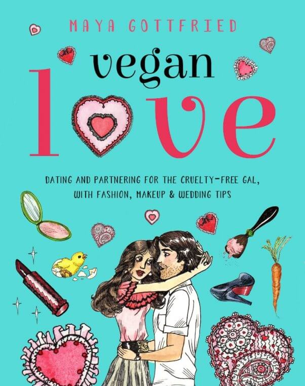 Vegan Love cover with people hugging