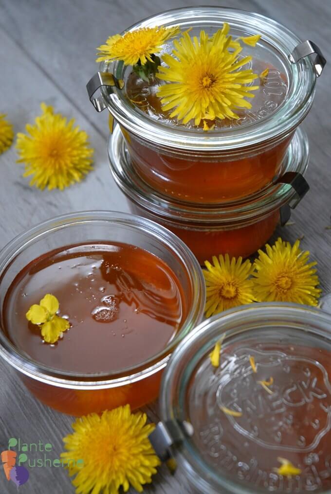 Vegan Dandelion 'Honey'