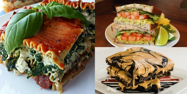 Vegetarian vegan recipes peta browse by meal type forumfinder Images