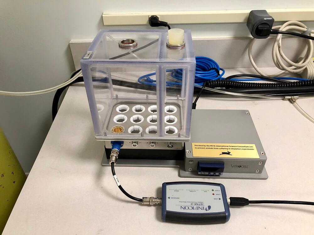 vitrocell, PETA International Science Consortium
