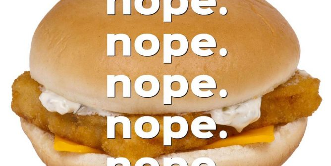 Another Reason to Avoid McDonald's: Worms in Filet-O-Fish?