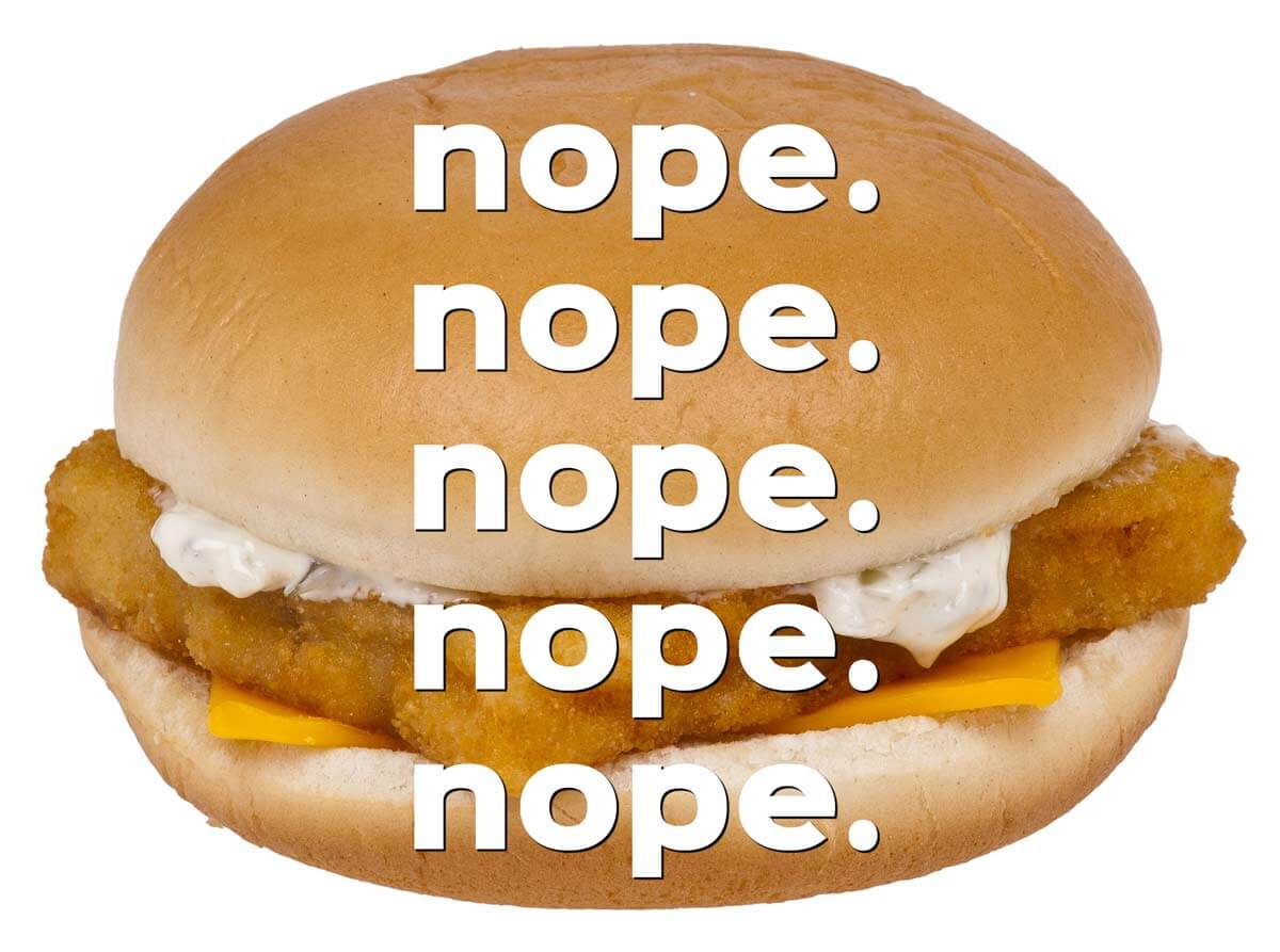 Michigan woman claims to find worm in mcdonald 39 s filet o for Mcdonalds fish fillet