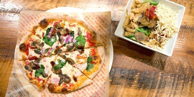 Sbarro S New Cucinova Pizza Restaurants Now Serving Vegan Cheese