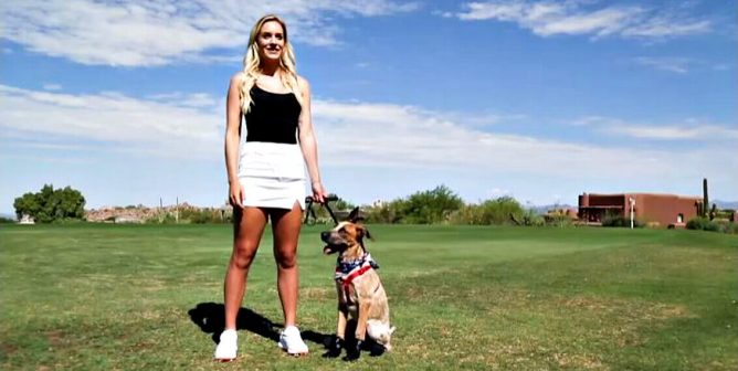 Golfer Paige Spiranac: Protect Your Dogs From the Sweltering Heat This Summer