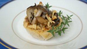 Wild Mushroom Tarts