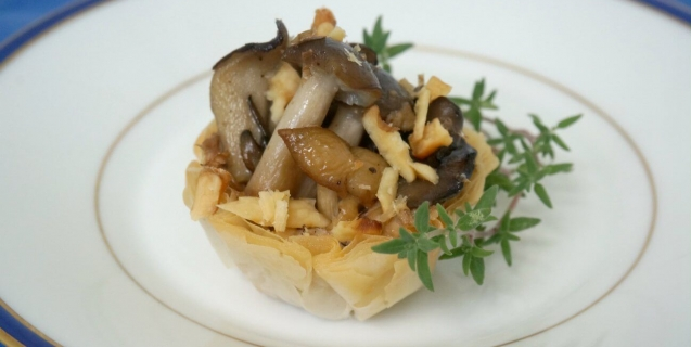Wild Mushroom and Truffle Tarts | PETA