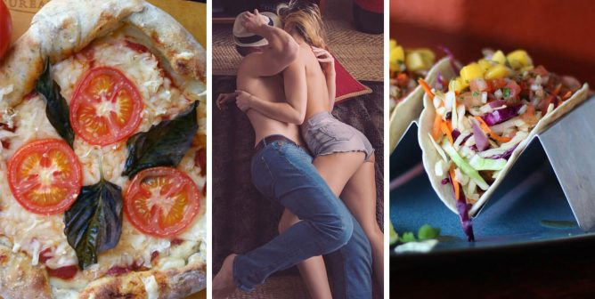 Top Post-Sex Food for Millennials? Pizza and Tacos