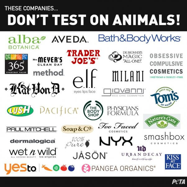 These Companies DO NOT Test On Animals. They're Cruelty