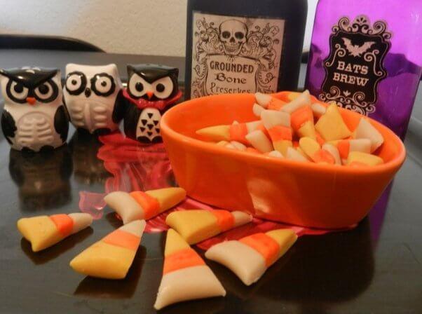 vegan candy corn DIY recipe