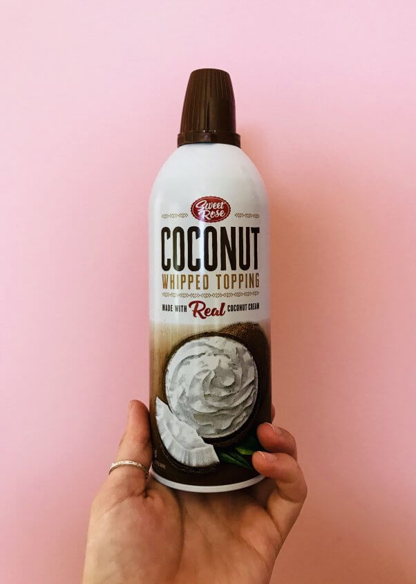 Sweet Rose Coconut Whipped Topping