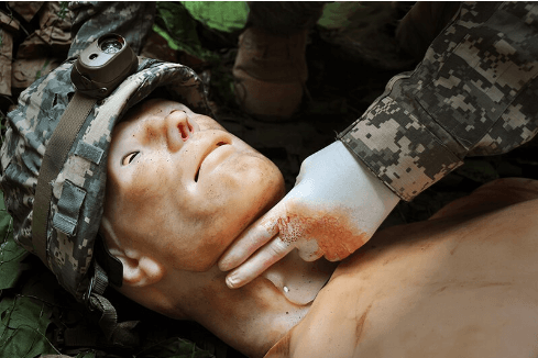 trauma hal, human patient simulator, trauma training tool