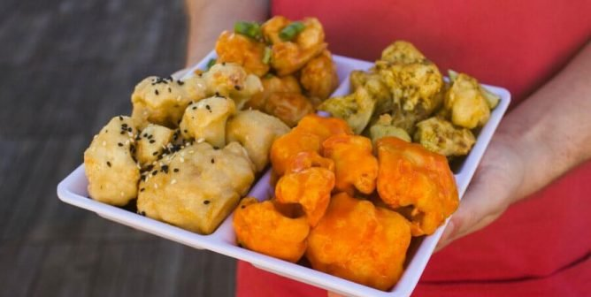 Tackle Your Cravings With These Meatless 'Monday Night Football' Bites (Video)