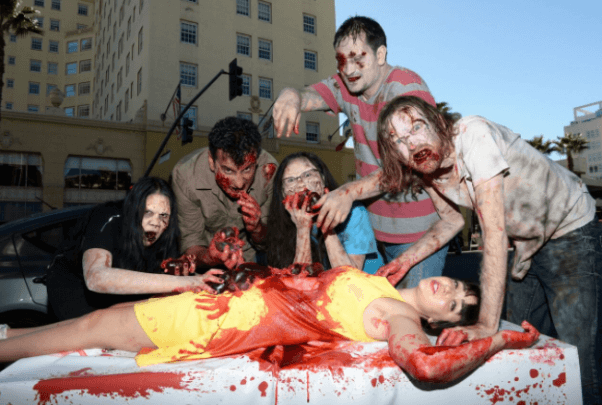 flesh is for zombies demo, hollywood walk of fame