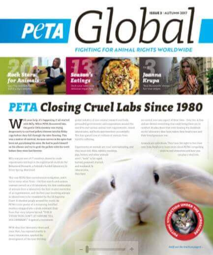 If peta global isnt on your reading list it should be peta lean into the season by cozying up with your favorite blanket and the latest edition of peta global petas online magazine sisterspd