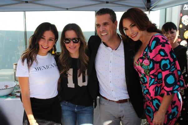 celebs at PETA Food Fight: Chilaquiles Edition