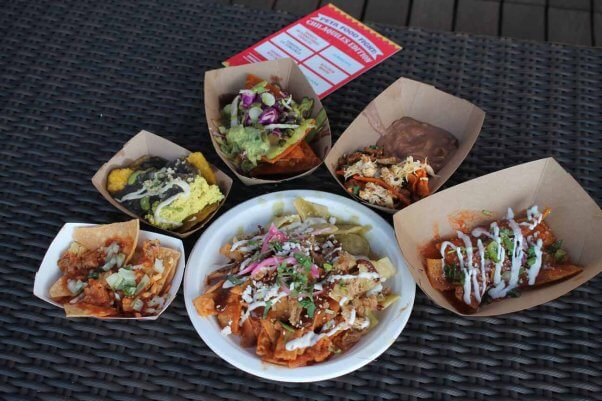 six L.A. restaurants competed in a vegan chilaquiles cook-off at PETA