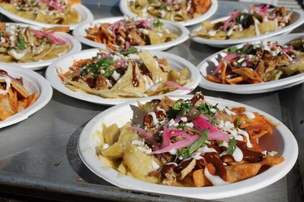 vegan chilaquiles were on the menu at PETA Food Fight: Chilaquiles Edition