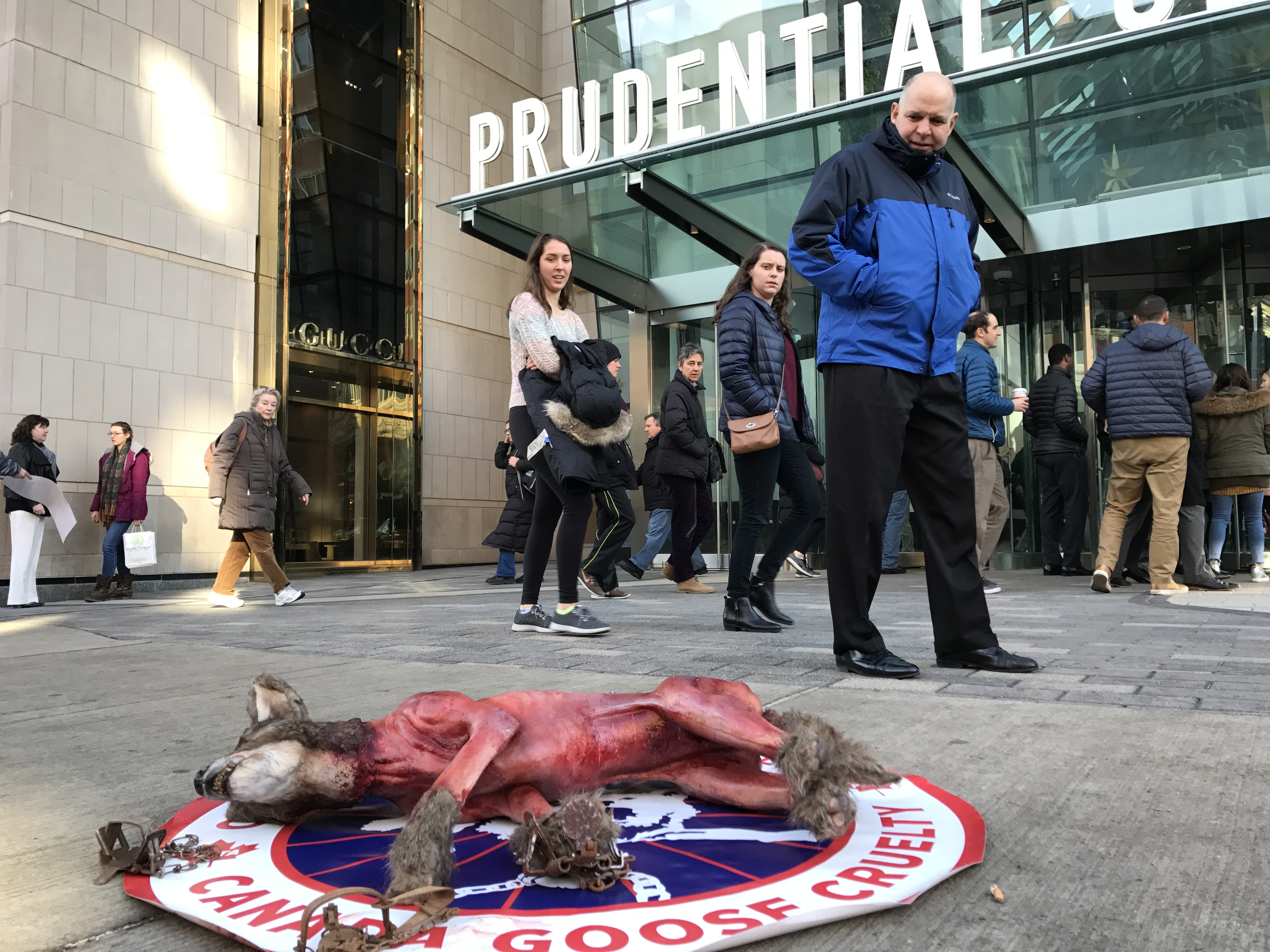 Click here to tell Canada Goose to stop selling fur and goose down.