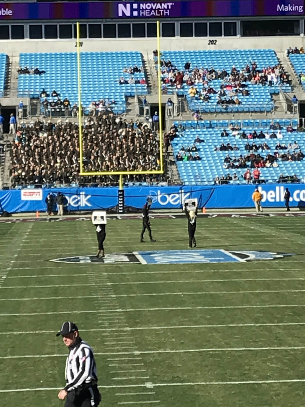 VIDEO: Dog-Experiment Protesters Arrested on Belk Bowl Field