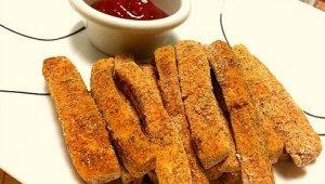 Crunchy Baked Tofu Fries