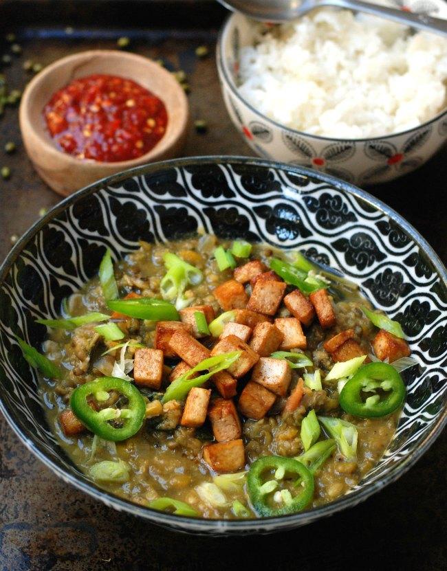 Chop Suey with Tofu and Shitake Mushrooms