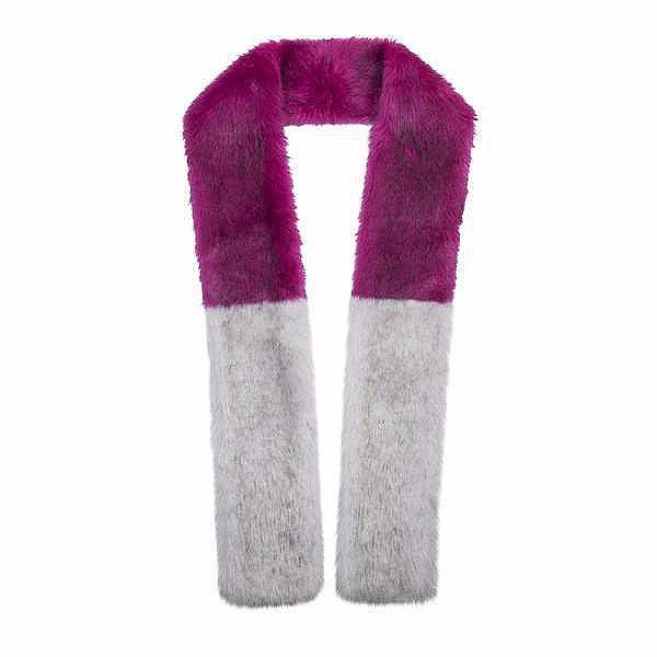luscious affair scarf by unreal fur