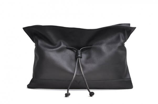technik-leather clutch from von holzhausen
