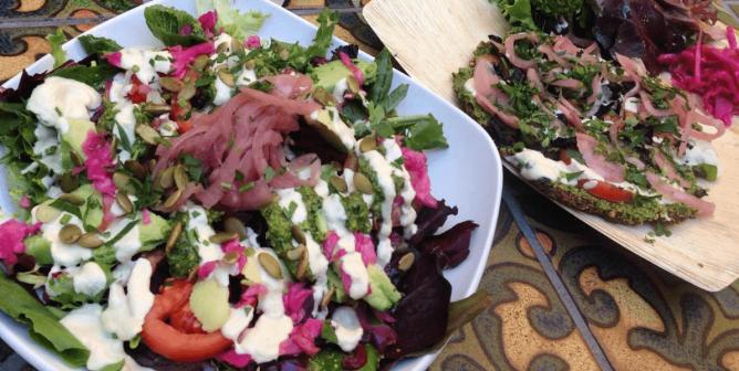 Eating Vegan on California's Central Coast