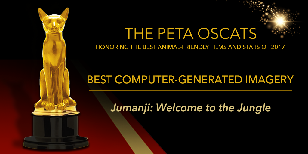 Announcing The Peta Oscats The Best Films And Stars For Animals