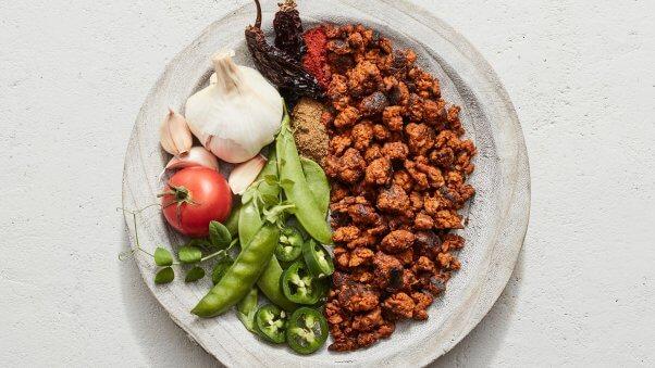 vegan chipotle plant-based chorizo