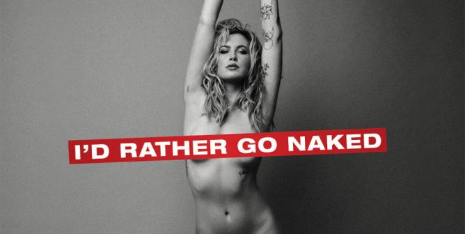 Ireland Basinger-Baldwin: I'd Rather Go Naked Than Wear Fur
