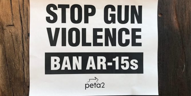 FREE 'Stop Gun Violence' Poster for the March This Weekend